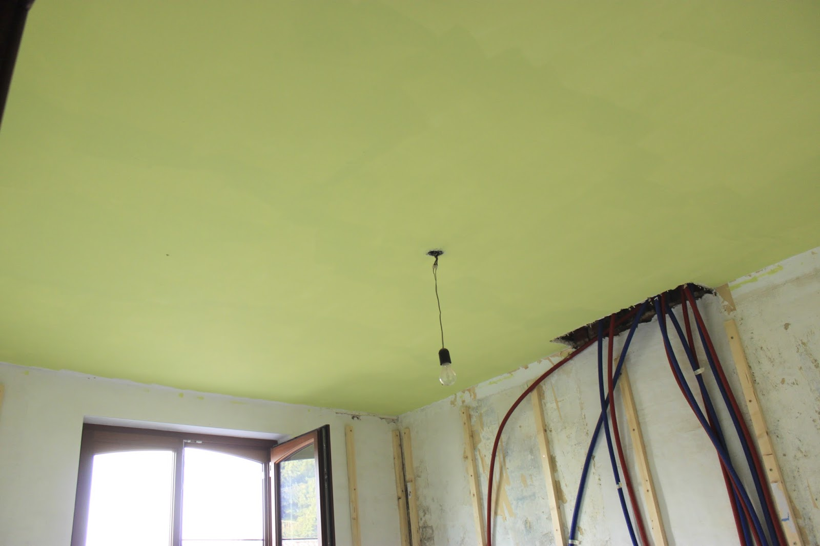 1935 Renovation notes Paint. Primer For Bathroom Ceiling
