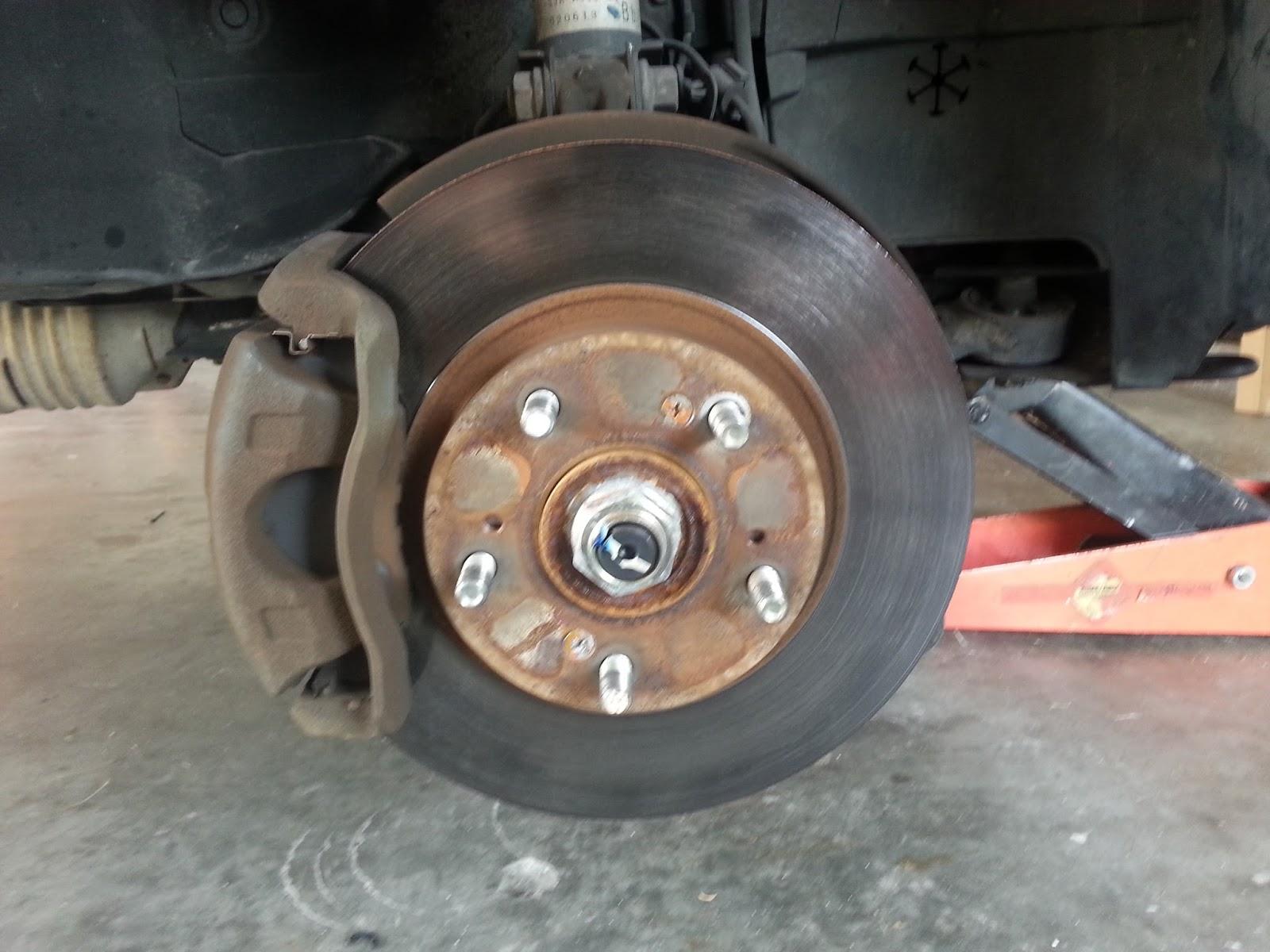 Diy front brakes rotors 2000 honda crv
