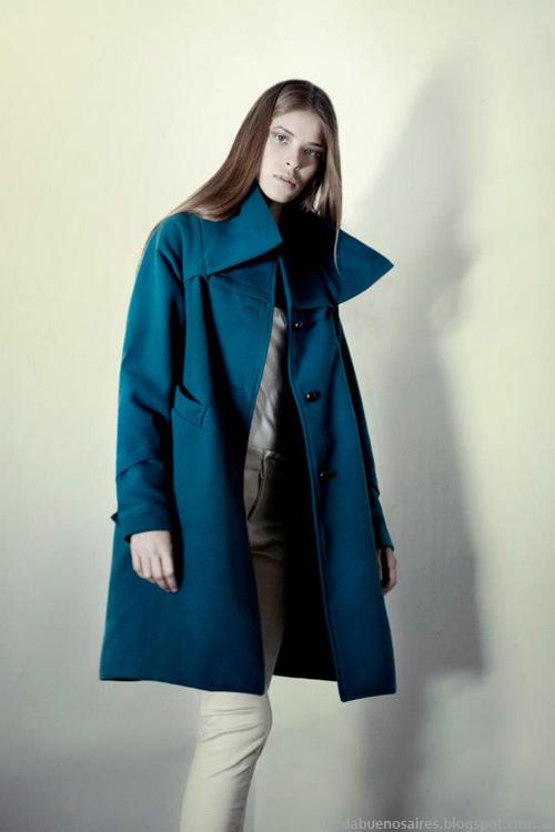 Daniela Sartori tapados invierno 2013 moda.