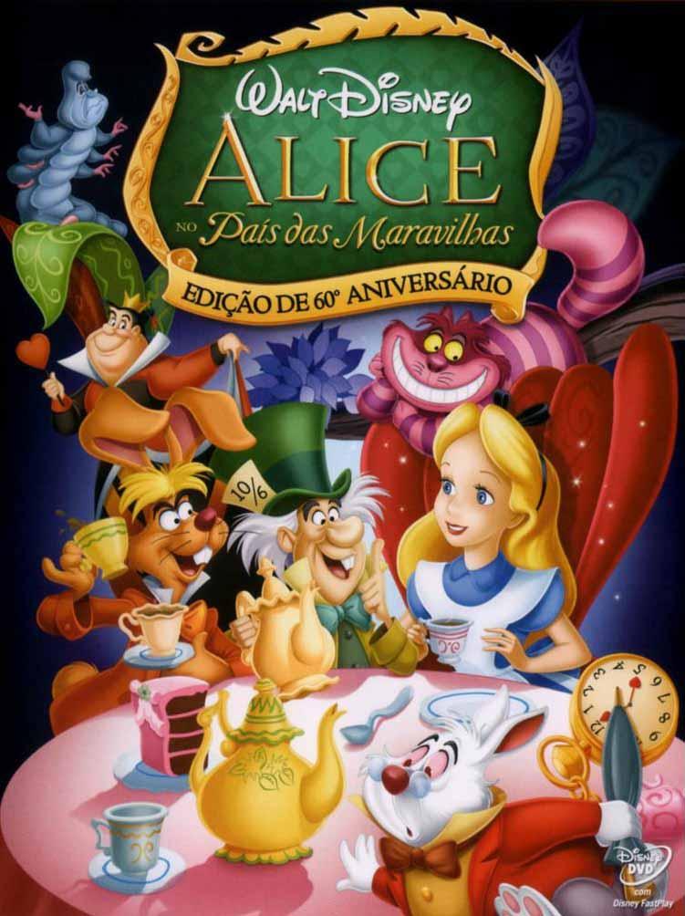 Alice no País das Maravilhas Torrent - Blu-ray Rip 720p e 1080p Dual Áudio (1951)