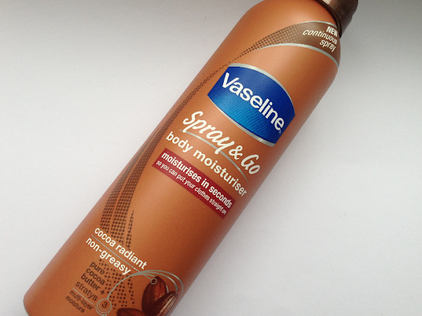 Vaseline Spay & Go Body Moisturiser Cocoa Radiant.