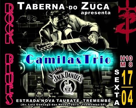 17-04-2015 - CAMILA & TRIO - Tremembé - SP