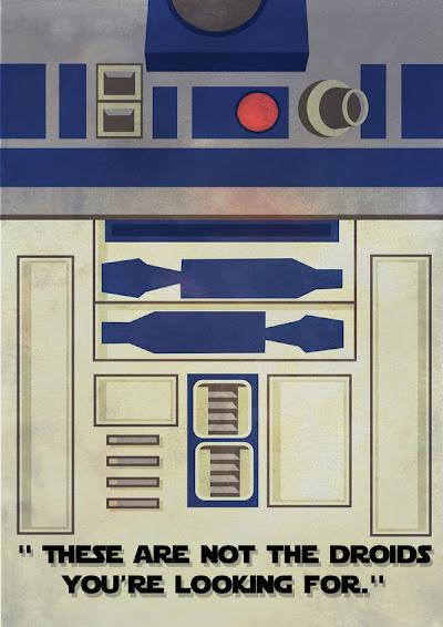 Star Wars Minimalista - R2-D2