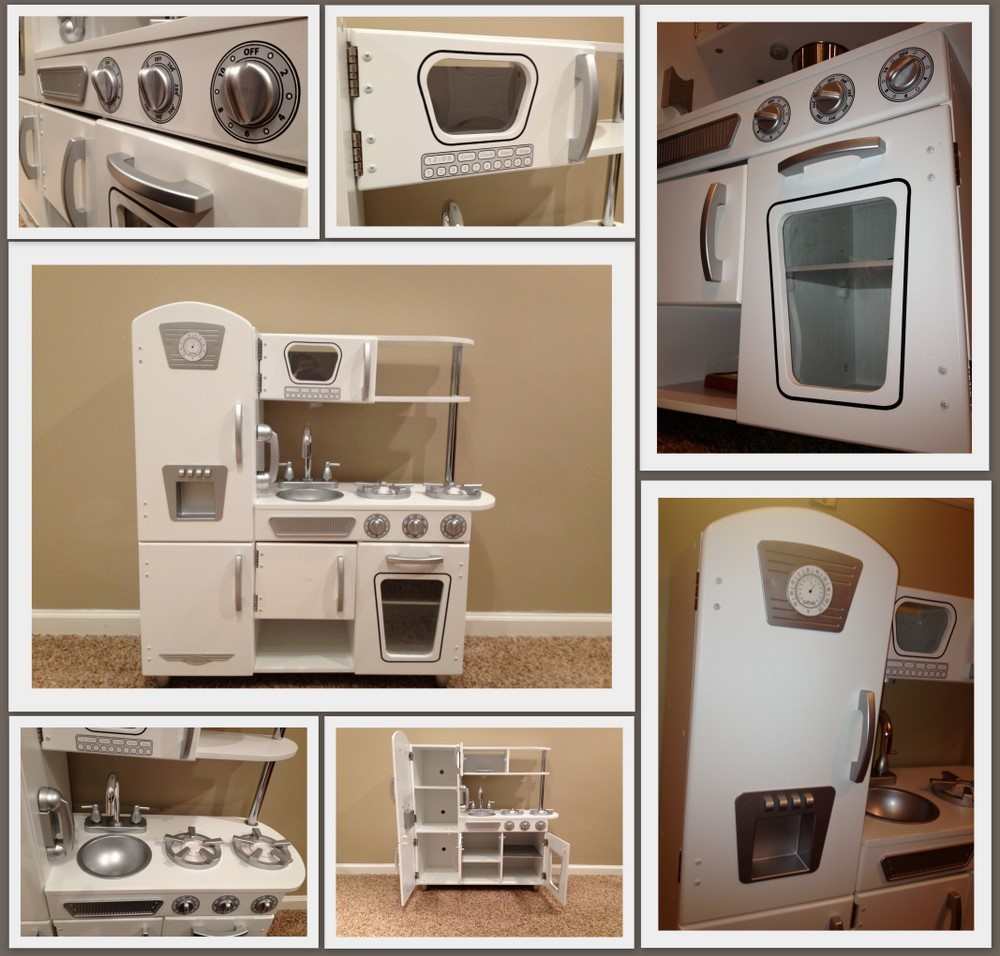 mom mart: product review: kidkraft white vintage kitchen {fun for