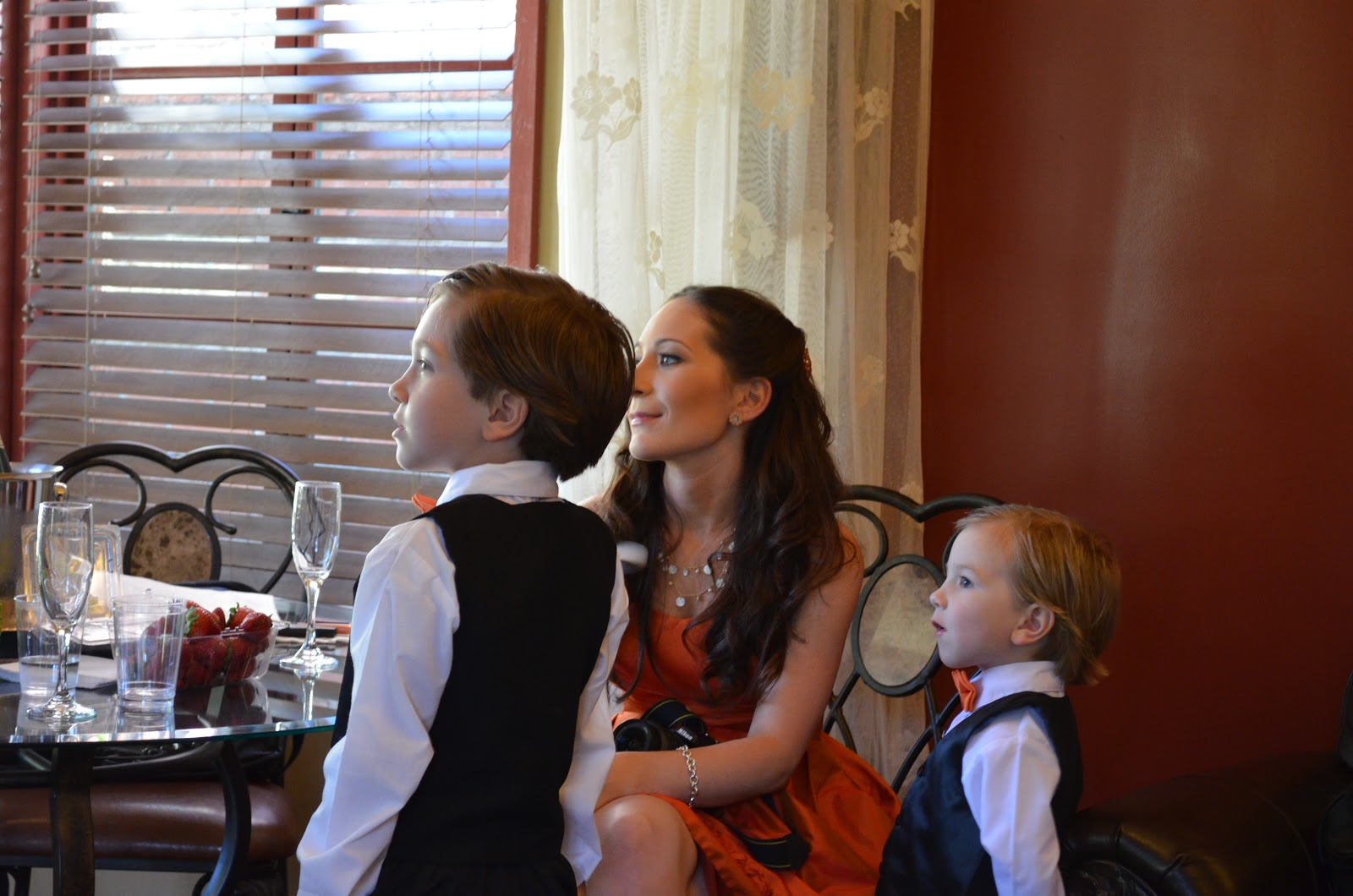 Family stress before wedding