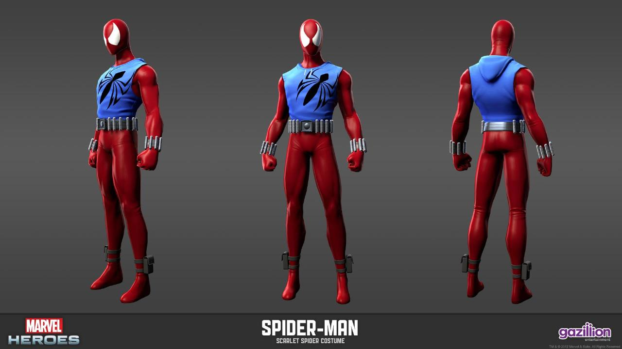 Even though the Scarlet Spider costume is quite  simple  it was basically red/scarlet full body suit with a blue rippled type jacket but I like it ... & Spiderman Morphsuits: Ben Reilly Scarlet Spider
