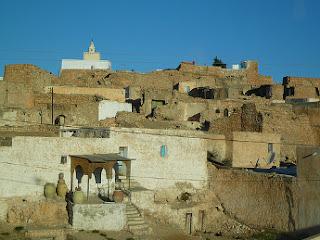 Vistas de Tamezret - Túnez