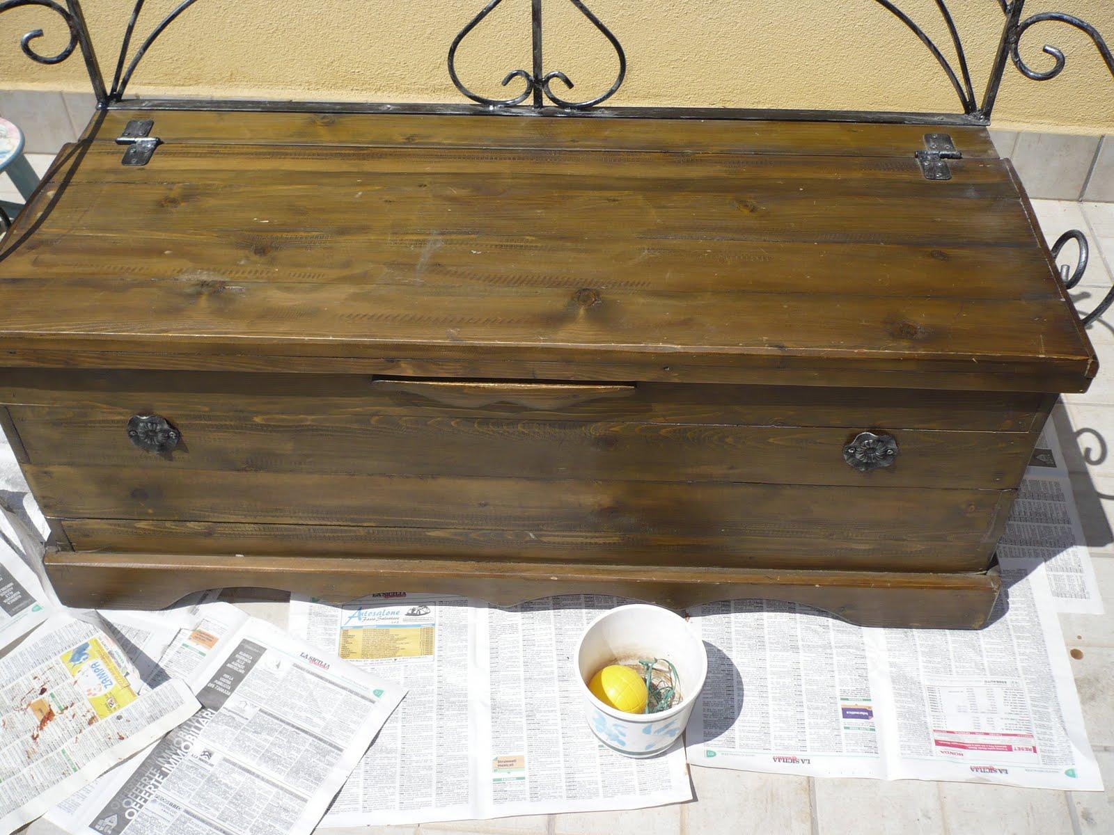 Italian cooking restaurare i vecchi mobili for Mobili vecchi da restaurare