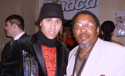 Walter and Tabu of the Black Eye Peas