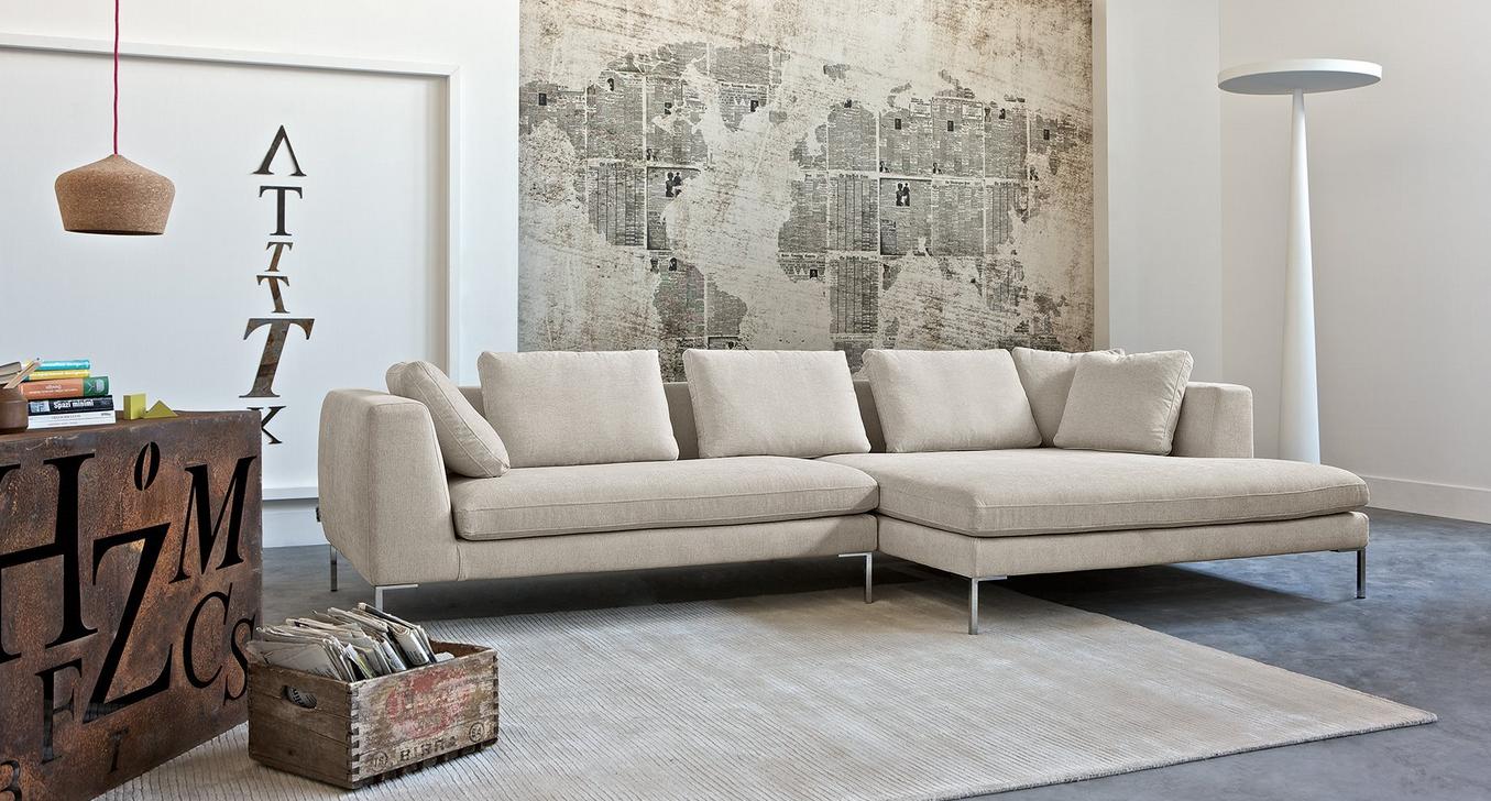 Panna e grigio: due colori attuali per il rivestimento di divani ...