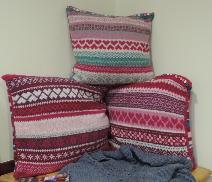 Knitting Now and Then: Fair Isle in Leighton Buzzard