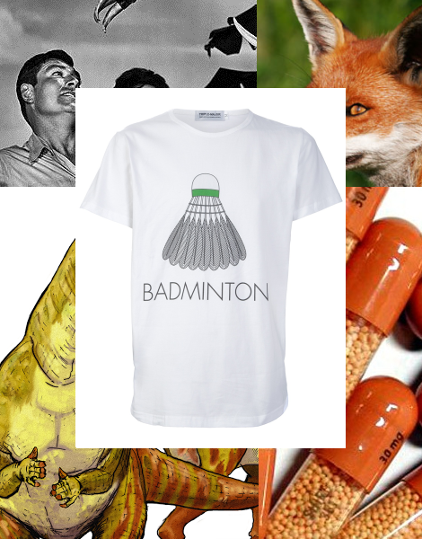 Triple Major Badminton T-shirt