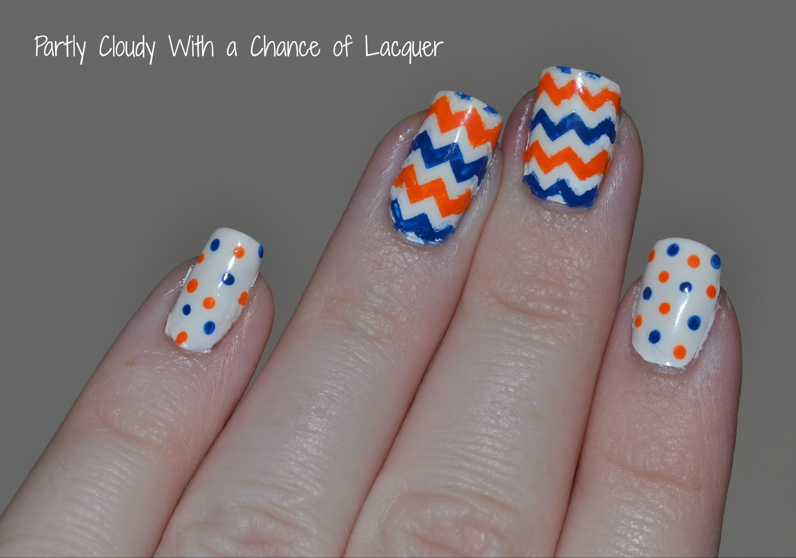 Florida Gator Nails Uf Vs Fsu Partly Cloudy With A Chance Of Lacquer