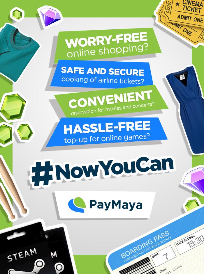 Shop with PayMaya