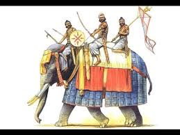Ancient India Warrior - The Warrior of the Elephant