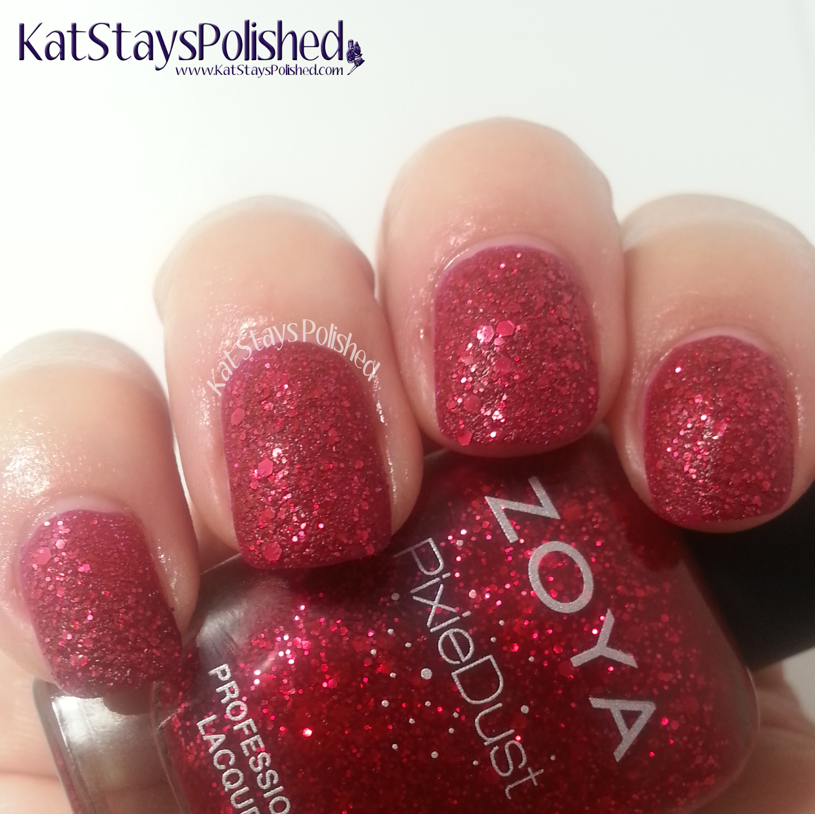 Zoya Ultra PixieDust - Oswin | Kat Stays Polished