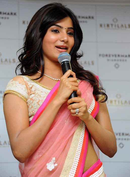 samantha beautiful saree actress pics
