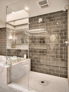 Manhattan glass tile by Bedrosians