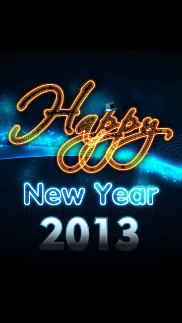 New Year 2013 iPhone 5 wallpapers