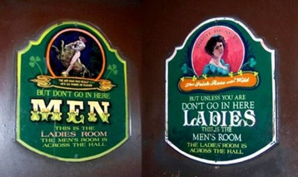 20 Creative Toilet Signs | Funny Signs