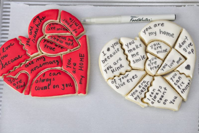 I Love You Cookies I love you because