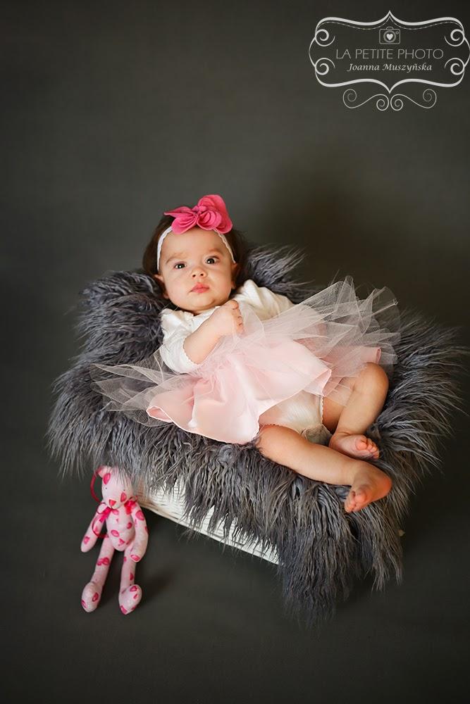 Sesja niemowlęca - Zosia 8 miesięcy:)