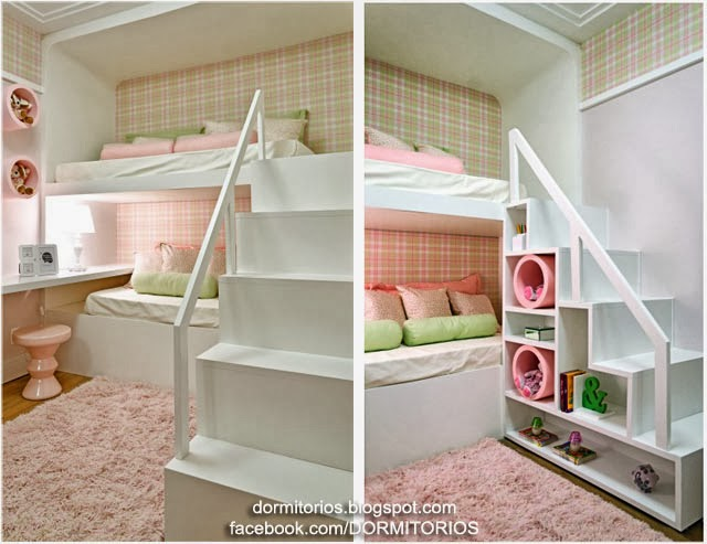 Dormitorio colores pastel home improvement design - Dormitorios de nina en blanco ...