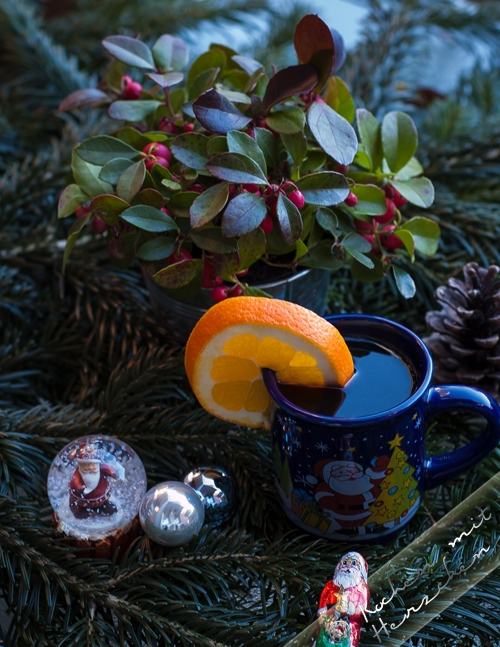 Weihnachtsbäckerei - Kinderpunsch
