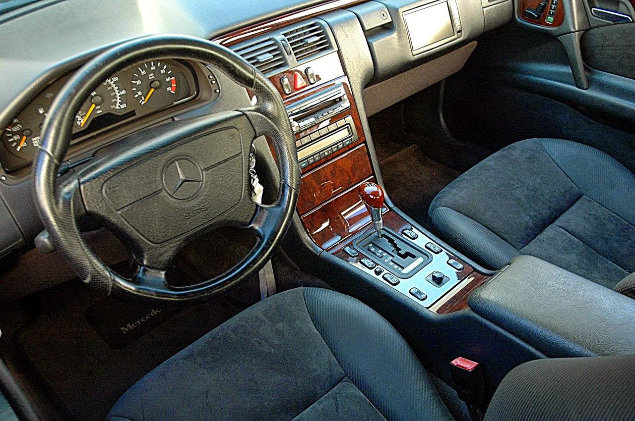 w210 interior