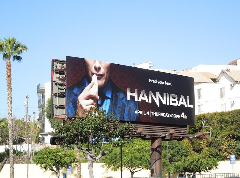 Hannibal NBC billboard