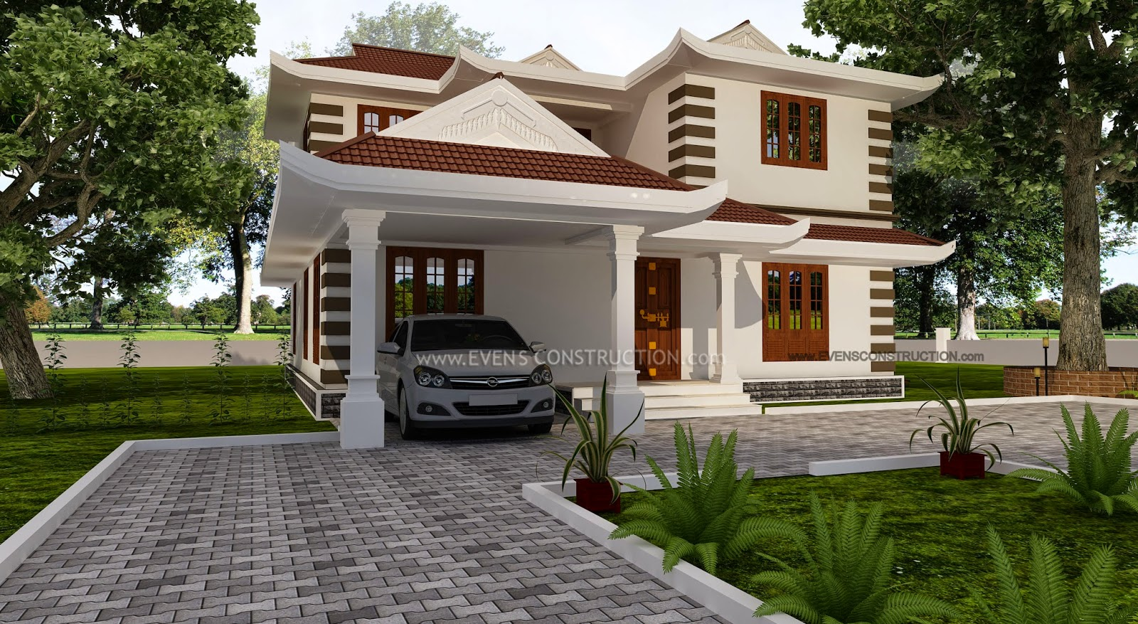 House Boundary Wall Design In Kerala on