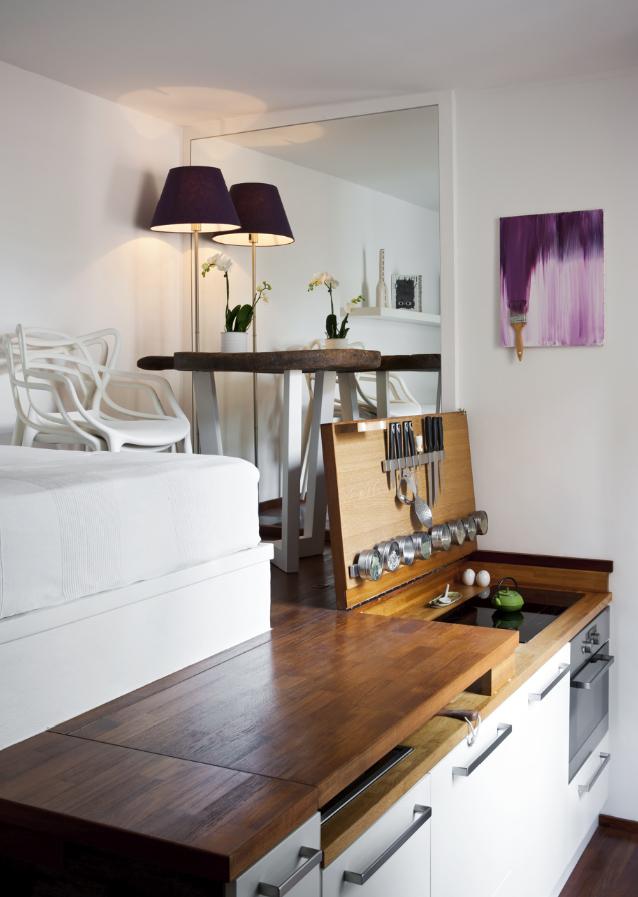 22 e soluzioni intelligenti per arredare una piccola casa for Casa di 3600 metri quadrati