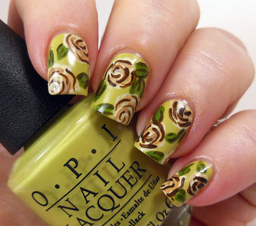 Did My Nails: April 2013