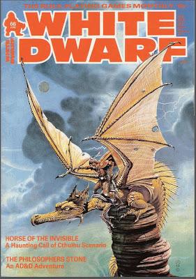 Portada de la White Dwarf 66