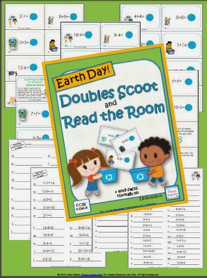 http://www.teachersnotebook.com/product/linda+n/add-and-subtract-doubles-scoot-for-earth-day