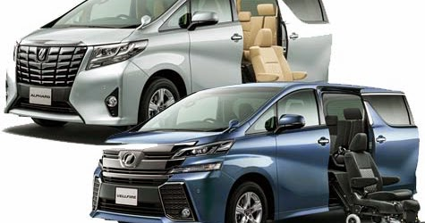 New Toyota Alphard and    Vellfire    with Exterior Design
