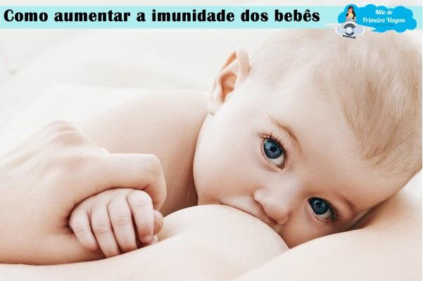 Como aumentar a imunidade dos bebês