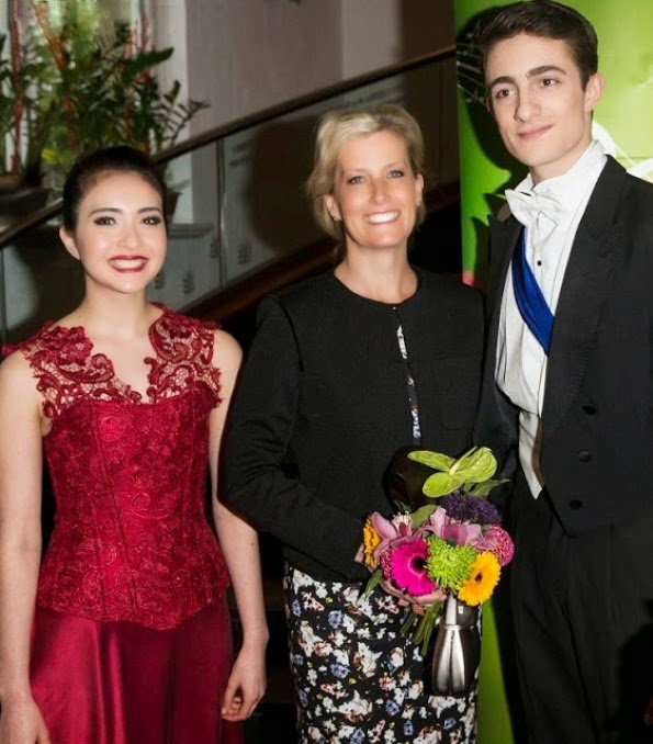 The Countess Of Wessex Attends A Performance By Ballet Central