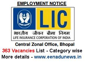 LIC ADO Central Zonal Recruitment 2015, LIC ADO 363 Central Zonal Vacancies List, ADO Central Zonal Jobs in LIC, www.licindia.in ADO Recruitment 2015 Apply Online, LIC ADO Recruitment Bhopal, LIC ADO Central Zonal Bhopal Division Office Vacancies details