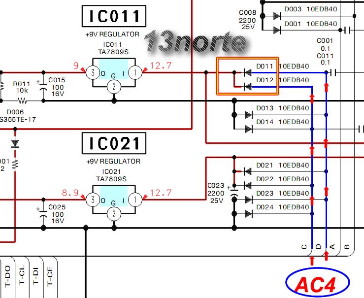 Regulación de voltaje HCD-RG590