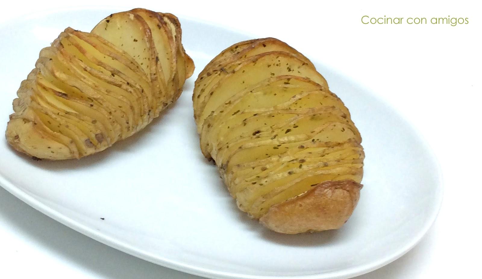 cocinar con patatas