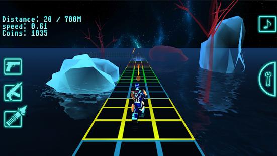 Run Of Tron 3D pro full apk game