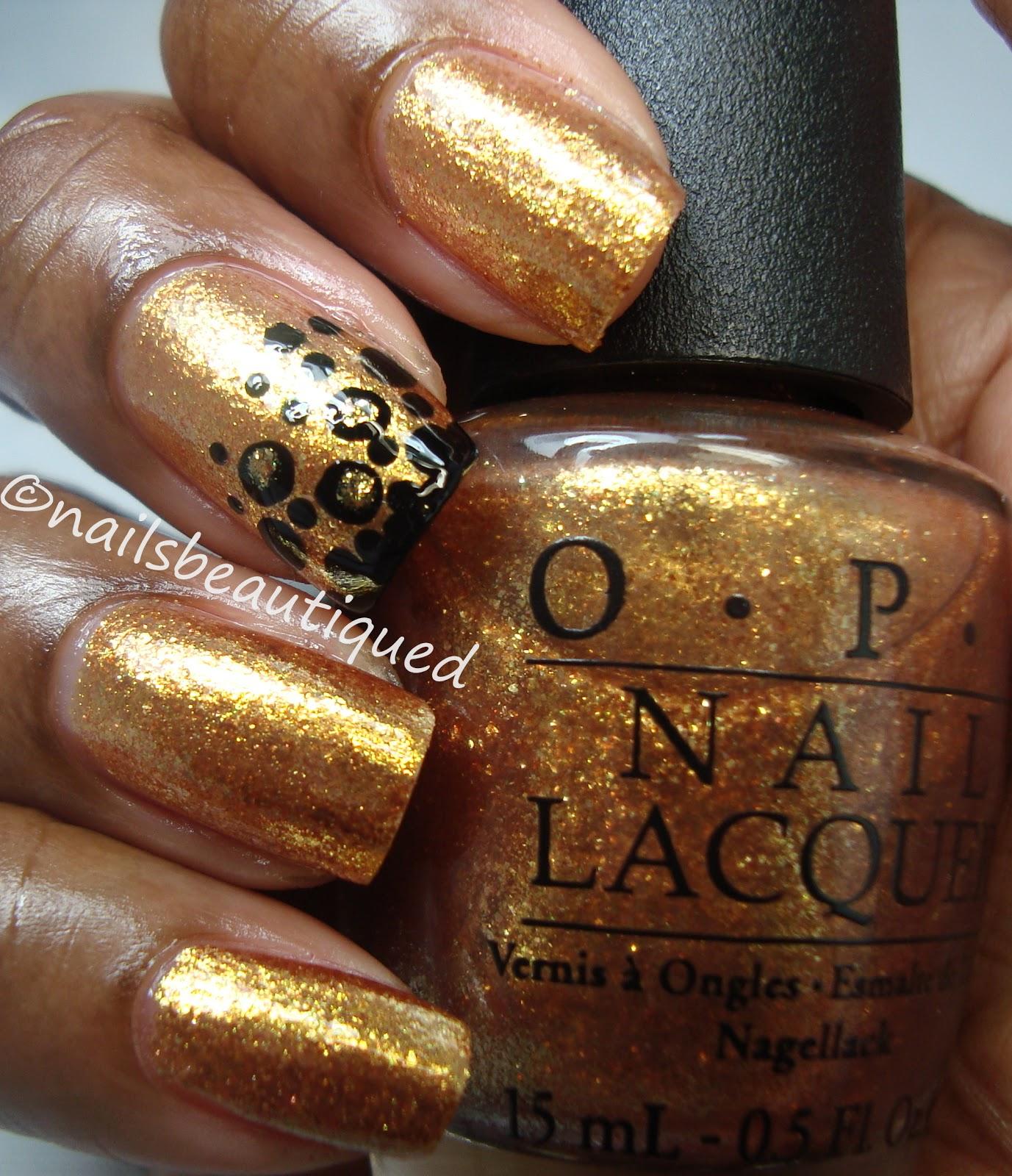 Opi Goldeneye unbitten polish: OPI G...