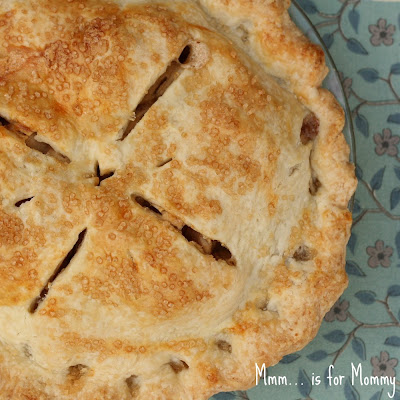 Apple Pear Ginger Pie