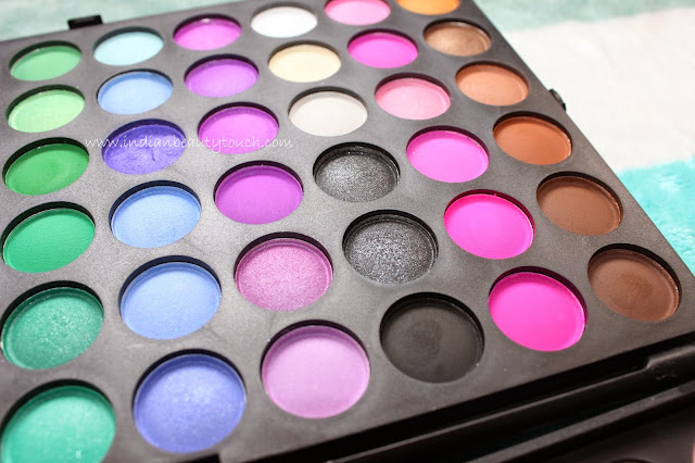 Blush Professional 120 color eyeshadow palette Review