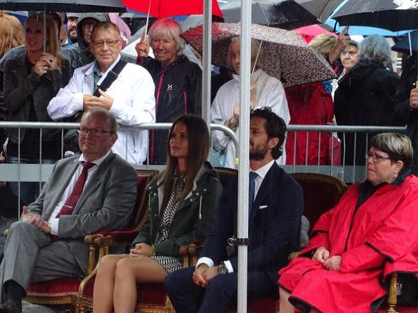 Prince Carl Philip And Princess Sofia's Varmland Visit, Second Day