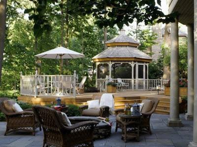 hermosa terraza