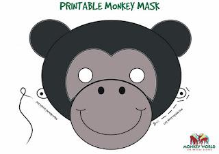 Маска-обезьяна