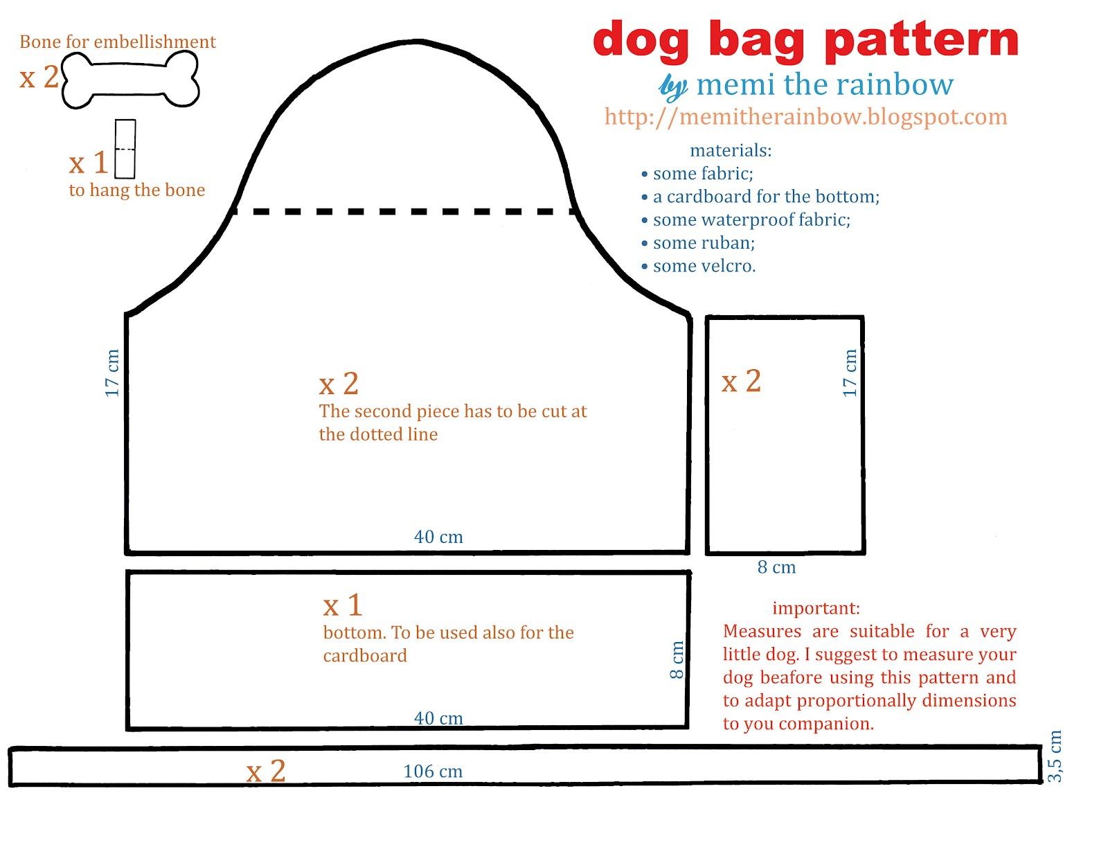 Bolsa P Levar Cachorro : Arte com quiane paps e moldes de artesanato molde