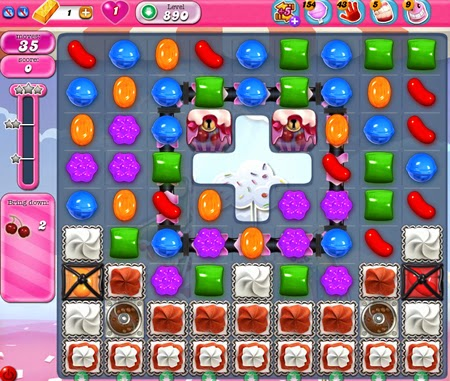 Candy Crush Saga 890